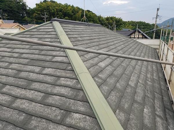 熊本市北区住宅 屋根老朽化対策塗装工事(厚膜下塗り材使用)