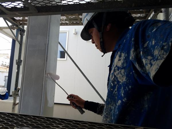 熊本若葉新築住宅・外壁塗装工事(弾性ベルアート)