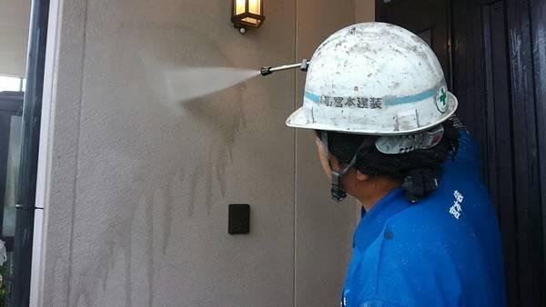 熊本市東区江津住宅塗装・高圧水洗浄工事