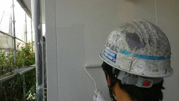 熊本市東区江津住宅塗装・外壁上塗り仕上げ完了(水性シリコン)