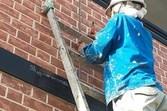 熊本市中央区水前寺住宅 サイディング外壁雨漏れ補修工事 目地コーキング