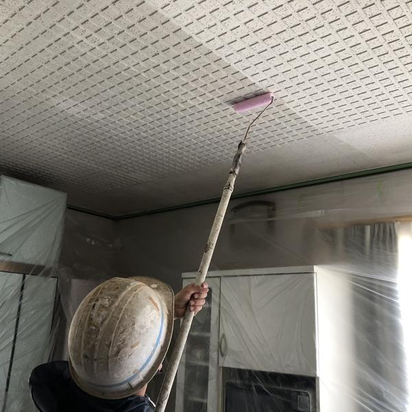 熊本県山鹿市鹿央町住宅塗装・内部天井塗装工事
