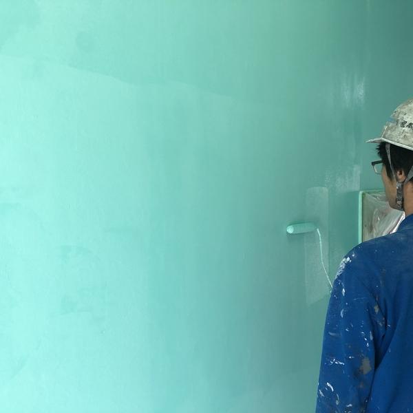 熊本市中央区ホテル内部塗装・通路天井・壁塗装仕上げ工事