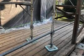ウッドデッキ老朽化(木腐食)修繕補強工事 / 益城町広崎の施工前画像