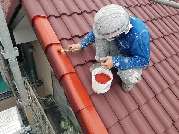 熊本県菊池市西寺住宅塗装・屋根塗装工事(水性シリコン)