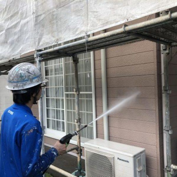 熊本市北区梶尾町住宅塗装・塗装前高圧洗浄工事