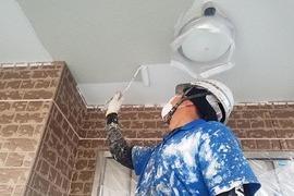 合志市幾久富住宅 外部付帯箇所塗装工事 (破風・樋・軒天井)の施工前画像