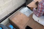 熊本県上益城郡益城町広崎 地震被害土間タイル修繕工事