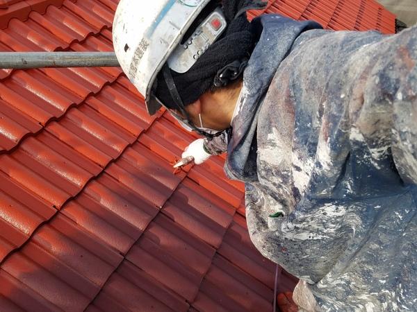 熊本県菊池市西寺住宅塗装・屋根吹付け塗装工事(水性シリコン)