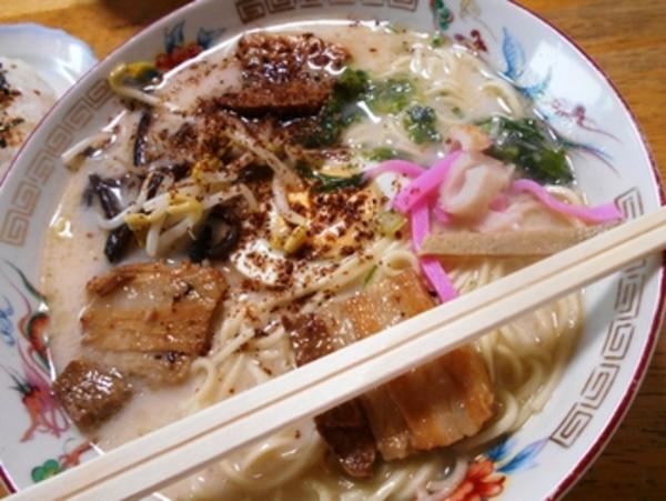 中華料理 宝来軒でラーメンを食べてみる~熊本市城東町~