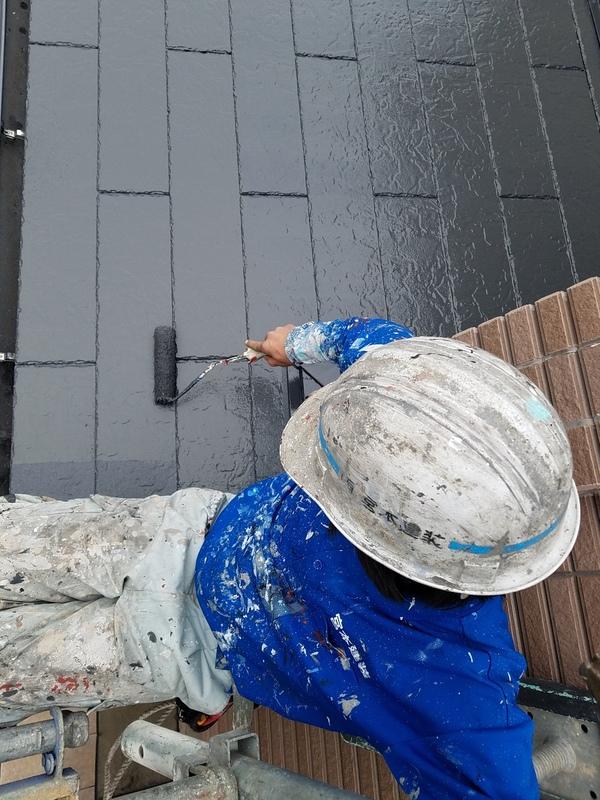 熊本県上益城郡嘉島町住宅塗装・屋根塗装全工事完了