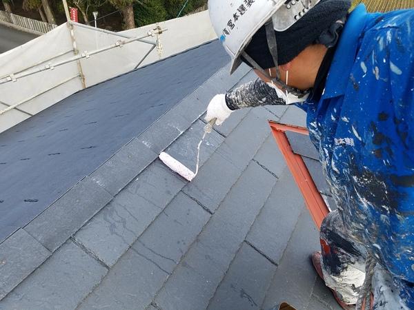 熊本県上益城郡嘉島町住宅塗装・屋根塗装工事(シーラー塗)