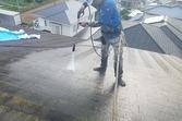 コロニアル屋根(スレート)修繕・葺き替え・塗装を行いました。(益城住宅)