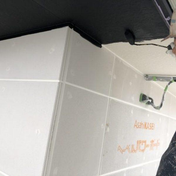 熊本県荒尾市新築住宅塗装・軒天井EP塗装工事
