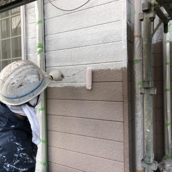 熊本市北区梶尾町住宅塗装・外壁下塗り塗装工事