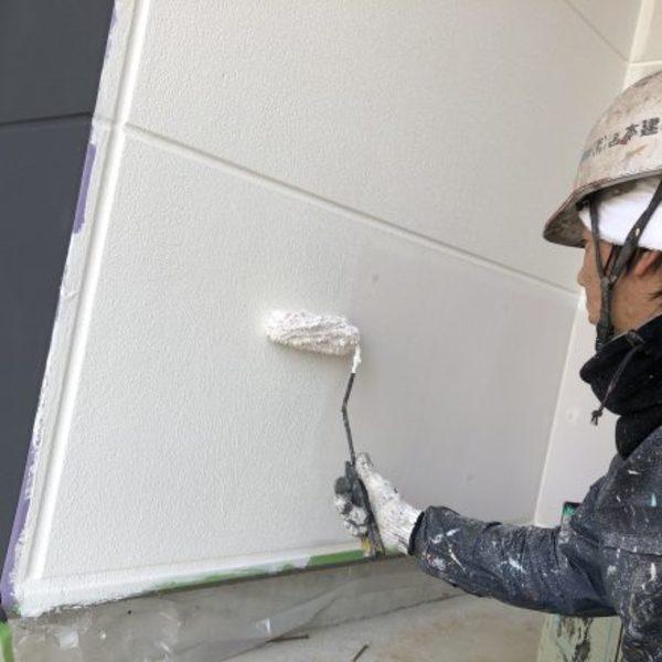 熊本県荒尾市新築住宅塗装・外壁下塗り塗装工事