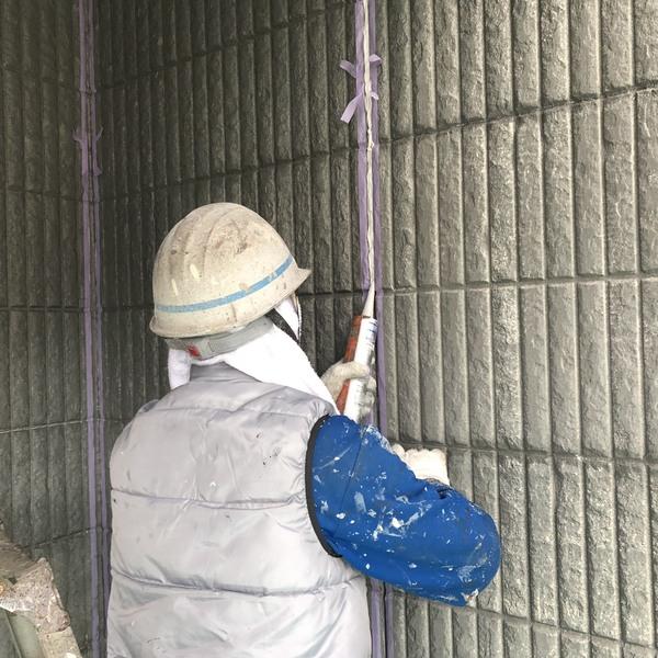 熊本県荒尾市万田住宅塗装・外壁シーリング打ち替え工事