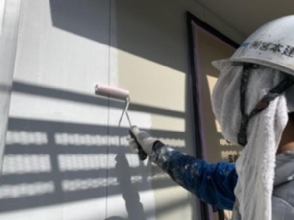 熊本市北区清水新規住宅塗装・外壁下塗り