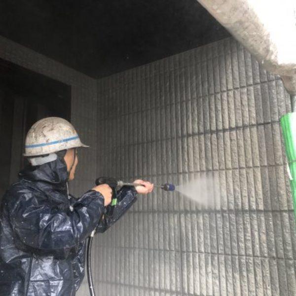 熊本県荒尾市万田住宅塗装・屋根、外壁等高圧洗浄工事