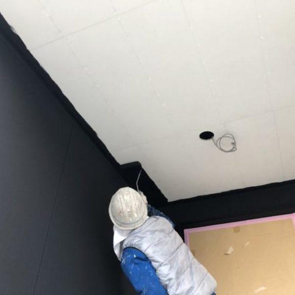 熊本県玉名市新築住宅塗装・軒天井塗装工事