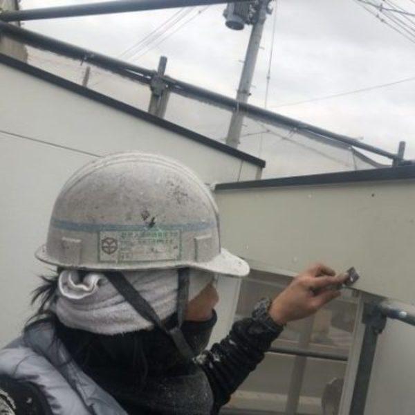 熊本県並建町住宅塗装・外壁補修部分下地補修工事