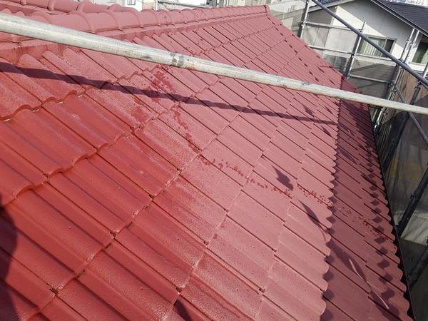 熊本県菊池市西寺 屋根吹付塗装工事