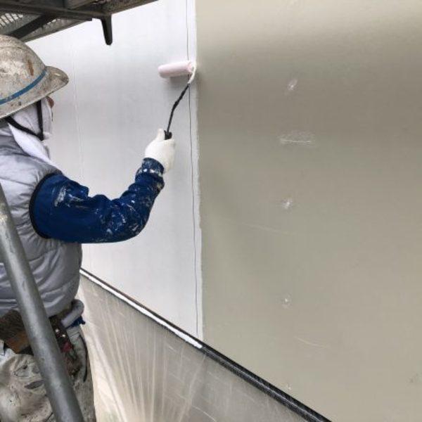 熊本県玉名市新築住宅塗装・外壁下塗り工事
