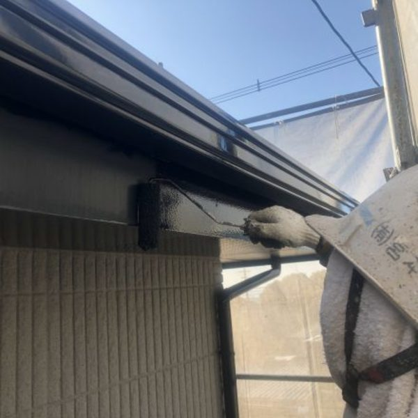 熊本県荒尾市住宅塗装・付帯部破風塗装工事