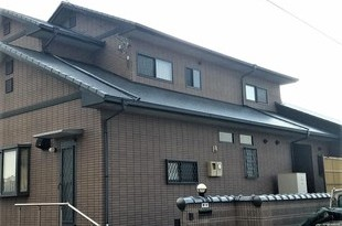 熊本県上益城郡嘉島町 スレート屋根塗装工事 屋根板金部含むの施工後画像