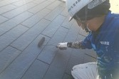 熊本県上益城郡嘉島町 スレート屋根塗装工事 屋根板金部含む