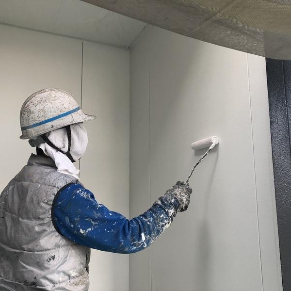 熊本市南区住宅塗装・外壁上塗り塗装完了
