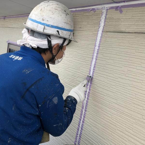 熊本市北区楠住宅塗装・外壁シーリング工事