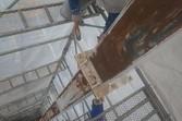 看板ポール塗装工事  熊本県菊池郡大津町
