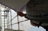熊本県阿蘇市湯浦にて住宅軒天井交換&隙間コーキング工事