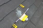 熊本県合志市須屋屋根塗装 地震被害平板スレート屋根補修専用 浸透型補修剤にて工事完了