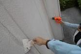 熊本地震被害外壁補修工事 お客様指定1日突貫工事(外壁塗装)