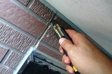 熊本市北区山室住宅 外壁サイディング目地に亀裂が!変成シリコンにて部分補修工事