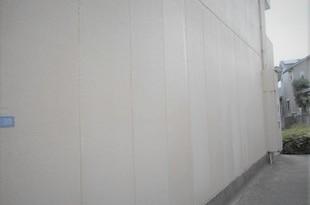熊本地震被害外壁補修工事 お客様指定1日突貫工事(外壁塗装)の施工後画像