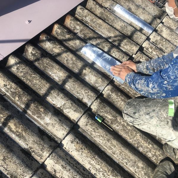 佐賀県みやき町工場屋根塗装・下地処理