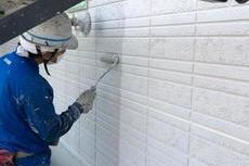 熊本県合志市 特殊柄付け外壁塗装工事