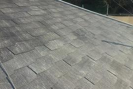 熊本県玉名市 屋根塗装工事 シリコン仕上げ3回塗りの施工前画像