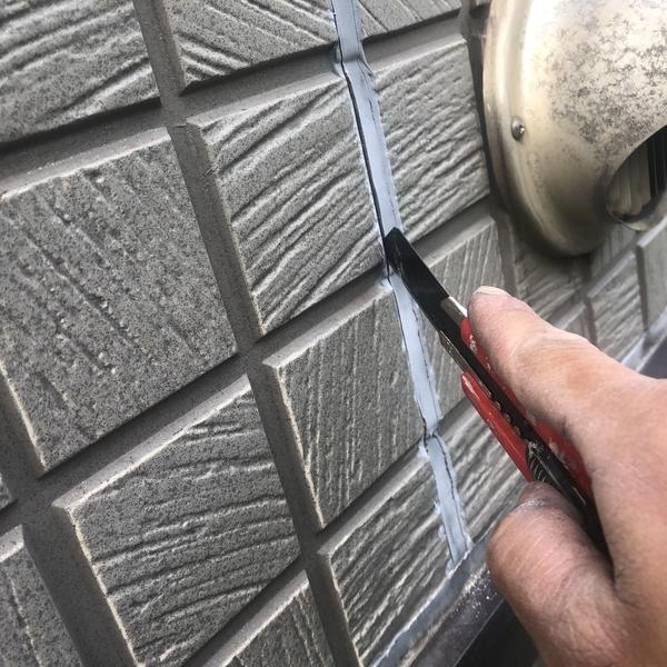熊本県北区楠・外壁シーリング工事