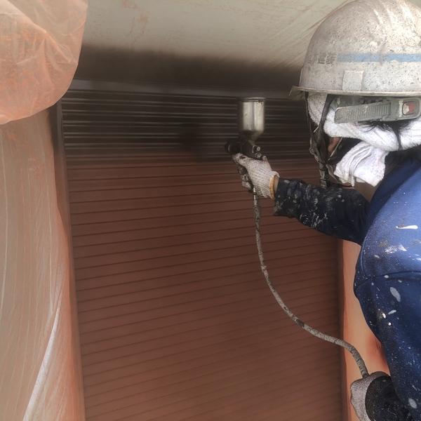 熊本県宇城市屋根外壁塗装工事・戸袋塗装