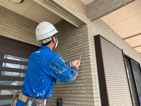 熊本県宇城市・外壁屋根塗装工事(シーリング工事)