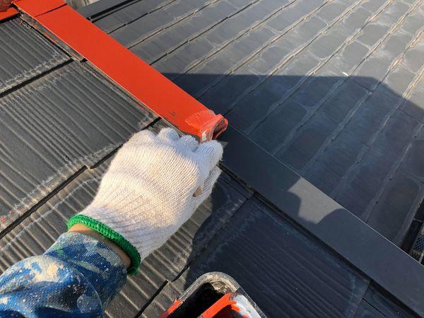 熊本市北区屋根塗装工事・板金塗装