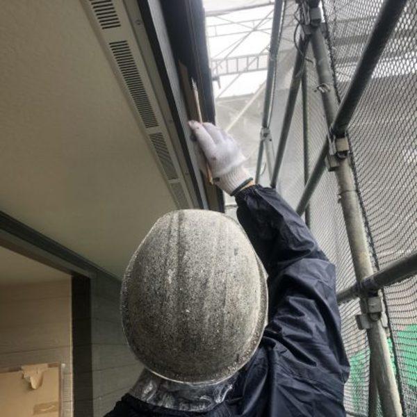 熊本市東区佐土原・外壁塗装(広小舞塗装)