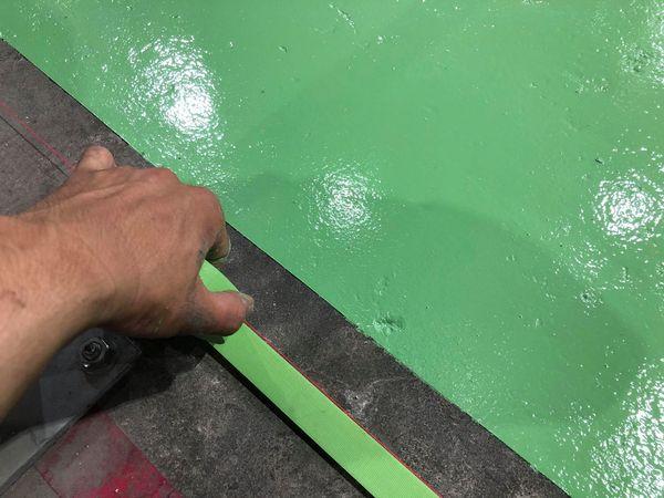 熊本県八代市・工場土間塗装工事