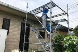 熊本県上益城郡 平屋大屋根ネフレッシユシリコンRC-142 フォレストグリーンにて屋根塗装工事の施工前画像