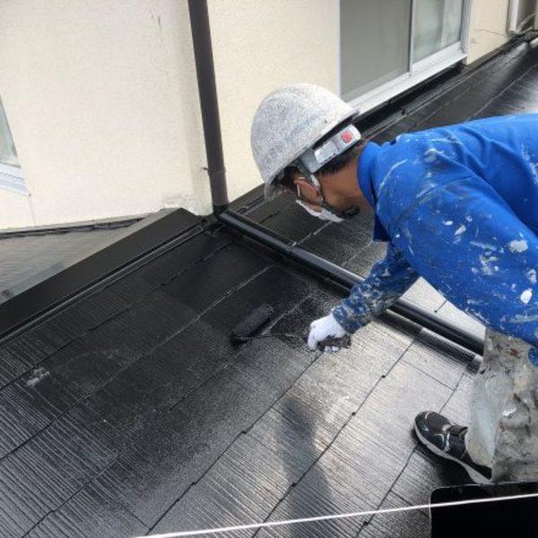 熊本県上益城郡・屋根塗装(塗装工事完了)
