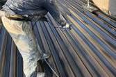 熊本県荒尾市 屋根塗装工事 (弱溶剤2液)